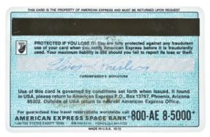 Elvis Signed American Express Card for Sale