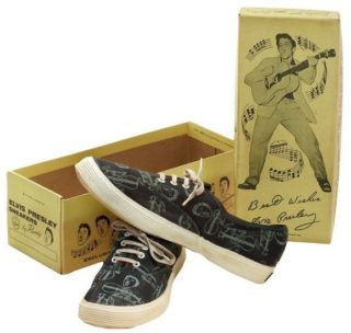 Elvis Collectible Sneakers 1956