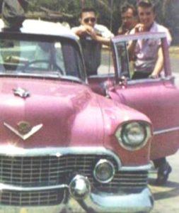 Elvis Pink Cadillac 1955