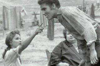 Debra Paget Elvis Presley Love Me Tender