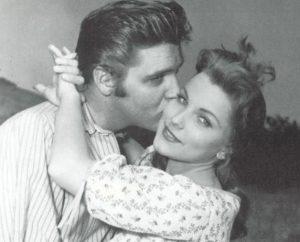 Debra Paget Elvis Kiss