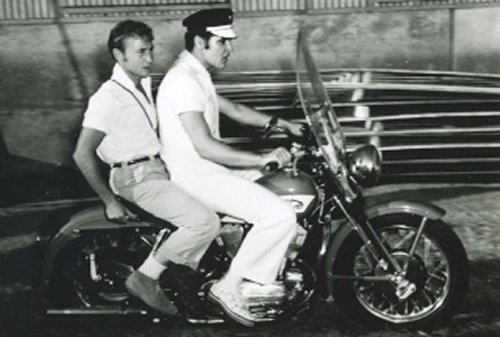 Elvis Bike with Nick Adams