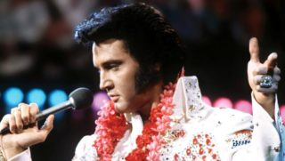 Elvis Hairstyle mid 1970s