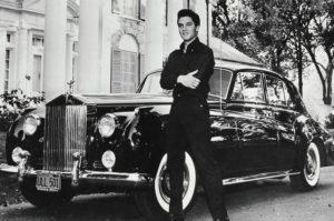 Elvis Rolls Royce