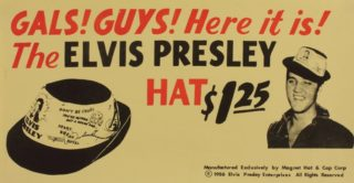 Elvis Collectible 1956 Hat