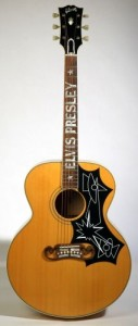 Elvis Guitar Owned by Rick Nelson
