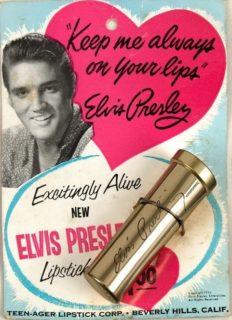 Elvis Vintage Lipstick 1950s