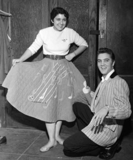 Elvis Poodle Skirt 1956