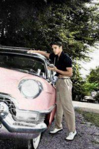 Elvis Pink Cadillac 1955 Graceland