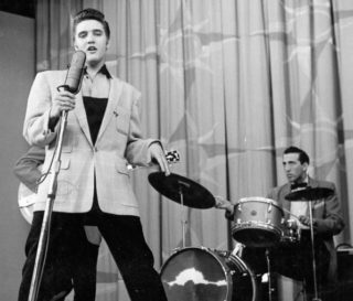 DJ Fontana Elvis Presley Drummer