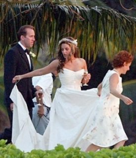 Lisa Marie Nicholas Cage Wedding