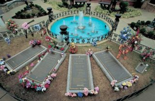 Presley Family Graves at Graceland
