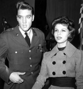 Nancy Sinatra Welcomes Elvis Presley Home 1960