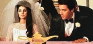 Elvis Wedding Photos May 1967 Presley Married Priscilla Beaulieu In Las Vegas Wed 21 Year Old Prsicilla Vegaselvis