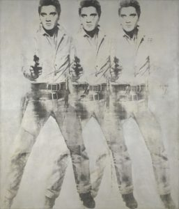 Andy Warhol Elvis Portrait